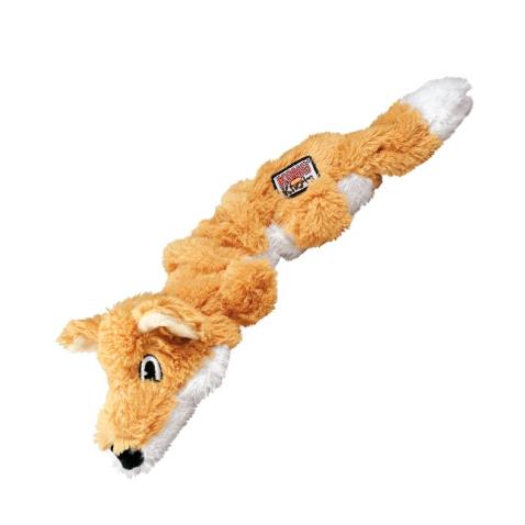 Kong Scrunch Knots Fox Spielzeug L