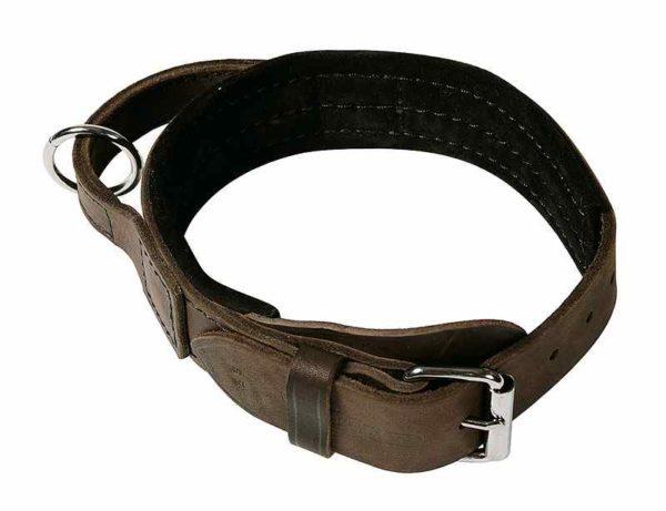 Softleder Halsband mit Griff